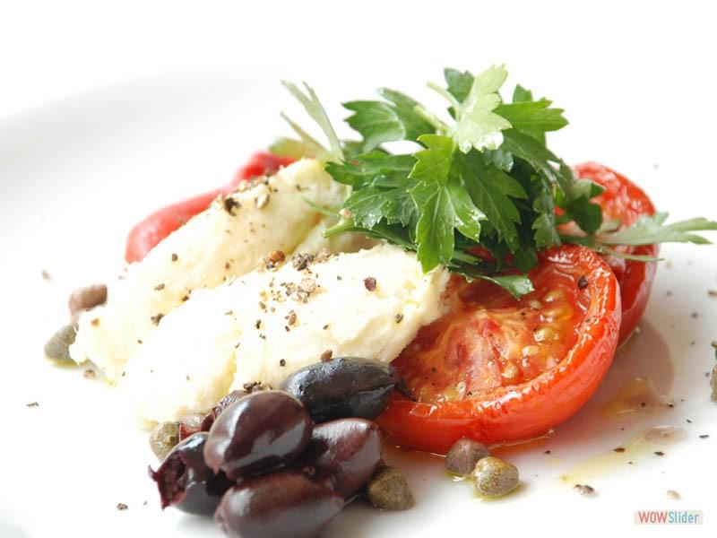 tomato & Mozarelalla and Oregano drizzle